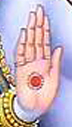 Sri Rama's Hand in Blessing